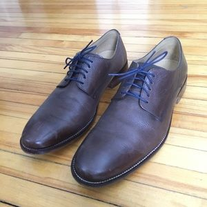 Cole Haan brown leather Oxford dress shoes 9.5